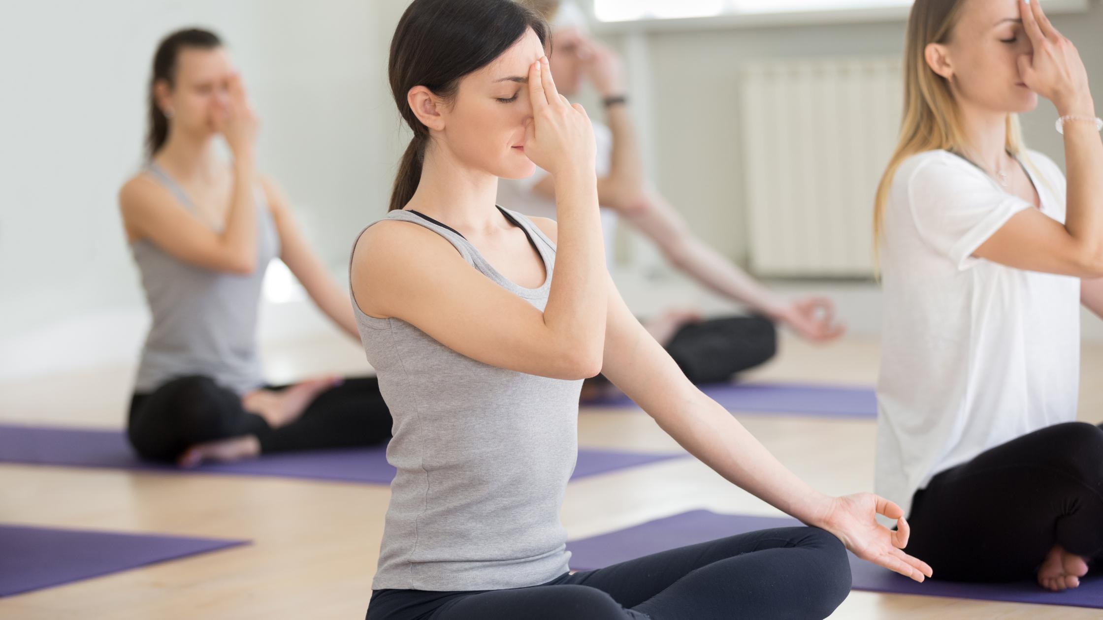 how to overcome stress with nadi shodhana pranayama